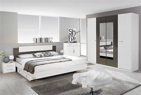 chambres d h es lit borba blanc gris lavel 145 x h 88 x p 195