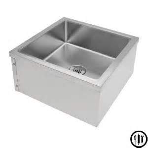 Plastic Corner Mop Sink by Stainless Steel Floor Mount Mop Sink 24 Quot X 24 Quot X 13 Quot Nsf