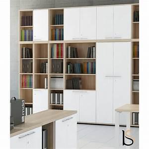 Bibliothèque Avec Porte : armoire biblioth que avec portes basses mdd armoires mdd ~ Teatrodelosmanantiales.com Idées de Décoration