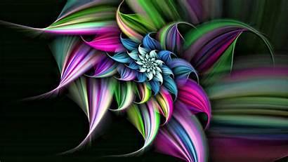 3d Colorful Flower Flowers Wallpapersafari