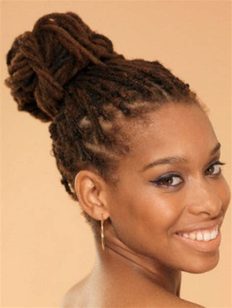 Updo Hairstyles For Dreads by Dreadlocks Hairstyles For
