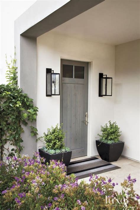 front entrance outdoor lighting schlage winner announced modern front door envy withheart