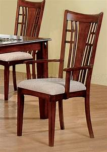 Distressed, Walnut, Finish, Dining, Furniture, With, Carved, Accents