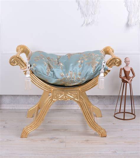 siege tabouret baroque siège gondole tabouret banquette antique ebay