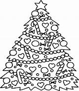 Coloring Tree Christmas Pages Pine Printable Sheets Trees Pokemon Getcolorings Printables Christmastree Children Princess Colors Tinkerbell Pag Getdrawings Santa Info sketch template