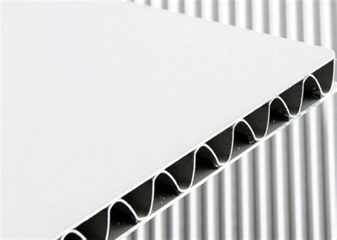 aluminum corrugated panel sheet aluminum composite materials aluminum corrugated composite