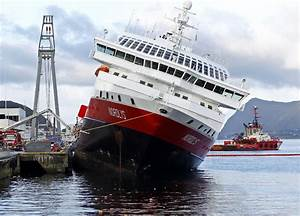 Norway: Cruise ship listing, may tilt over - CBS News