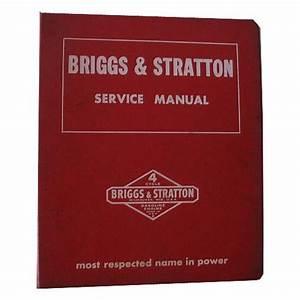 Original Briggs And Stratton Service Manual
