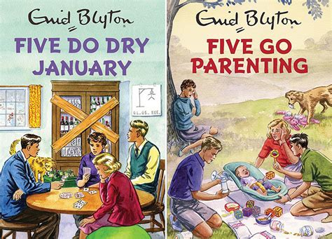 Spoof Enid Blyton Famous Five Books Coming Soon Utility