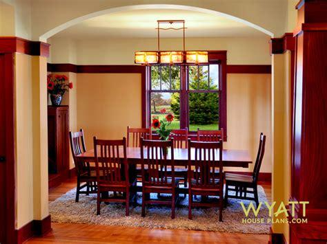 Dining Room, New Craftsman Home  Craftsman  Dining Room
