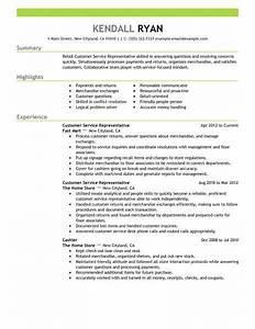 best retail customer service representative resume example With customer service representative skills resume