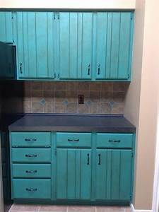 Chalk paint kitchen makeover - Traditional - Kitchen
