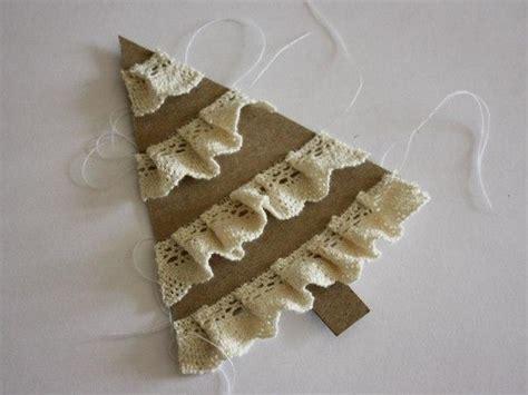 weihnachtsbaum aus pappe und stoff basteln dekoking