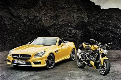 Mercedes Slk 55 Amg Yellow Cars