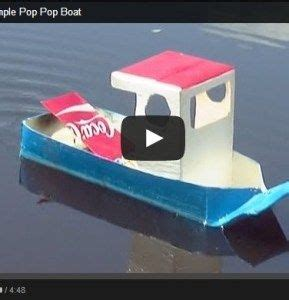 simple candle powered pop pop boat video