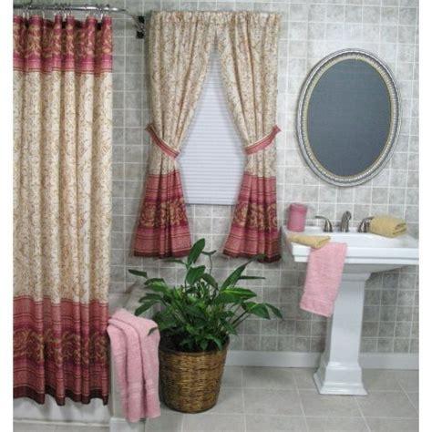 shower curtain matching window treatment curtain