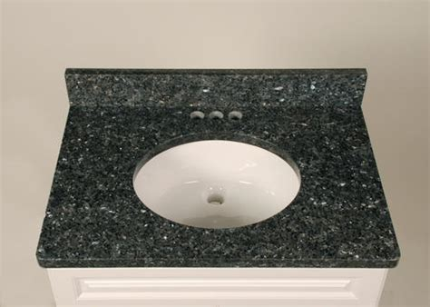 tuscany 37 quot x 22 quot 3 cm granite vanity top at menards 174