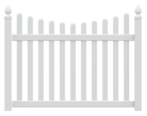 Columbia Vinyl Picket Fence