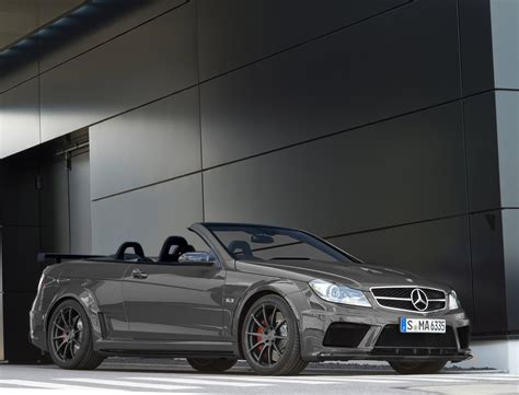 convertible mercedes black mercedes c63 amg black series convertible rendering