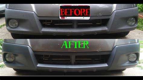 dupli color bumper coating plastic bumper restore with dupli color trim and bumper