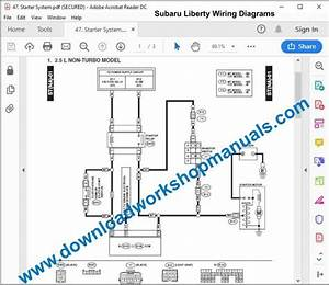 Subaru Liberty Workshop Repair Manual