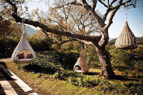 dedon swing nestrest hanging lounger swings from dedon architonic