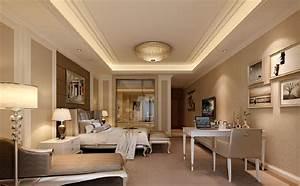 Interior ceiling design for bedroom