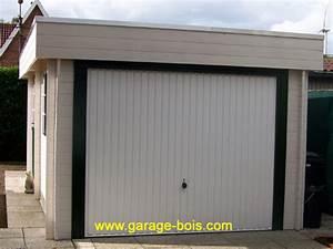 Garage En Bois Toit Plat : plan garage ossature bois toit plat ~ Dailycaller-alerts.com Idées de Décoration