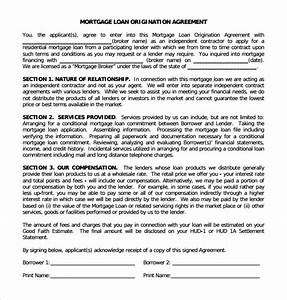 Second Mortgage Template Free 12 Sample Mortgage Agreement Templates In Pdf Ms