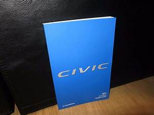 2017 Honda Civic Hatchback Owner U0026 39 S Manual