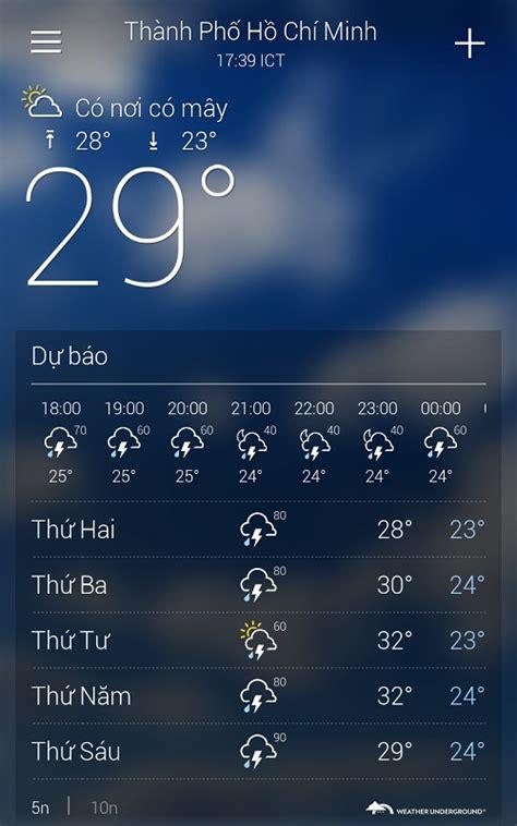phi vụ tiền giả review 2 ứng dụng thời tiết tốt nhất cho android vnreview tư vấn