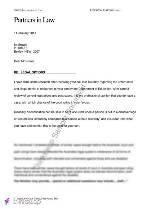 short  page    letter  advice   client