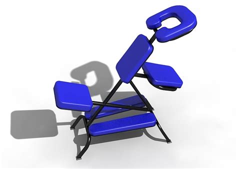 shiatsu chair 3d model sharecg