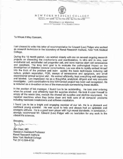 recommendation letter  student   college