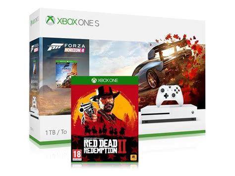 forza horizon 4 xbox buy xbox one s 1tb console forza horizon 4 dead redemption 2 bundle
