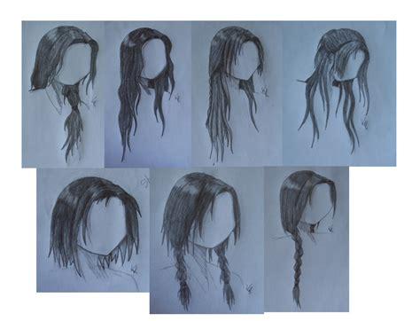 Female Anime Hairstyles By Ariathegoddess1 On Deviantart