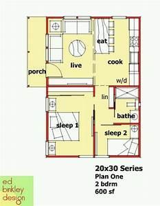 ed binkley design: 600 sq ft | Home - Floor Plans ...