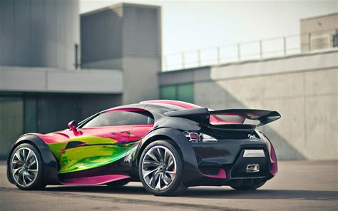 Citroen Survolt Concept Car 2 Wallpaper