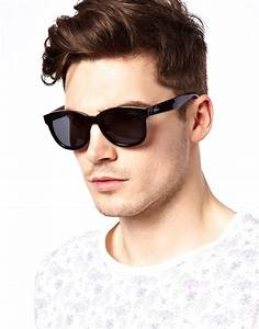 Lacoste Live Round Sunglasses in Black for Men | Lyst
