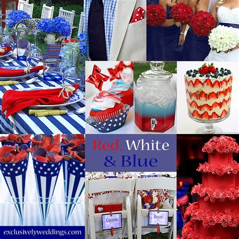 180 best red white blue wedding inspirations images on