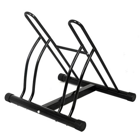 Bike Rack For Garage Floor new two bicycle bike stand racor garage floor storage