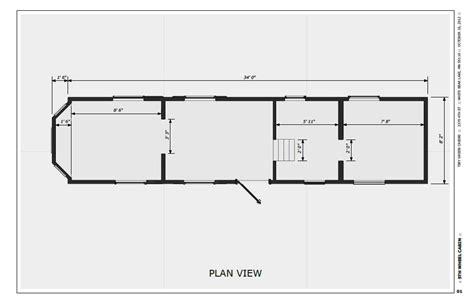 Not So Tiny, Tiny House Plan View