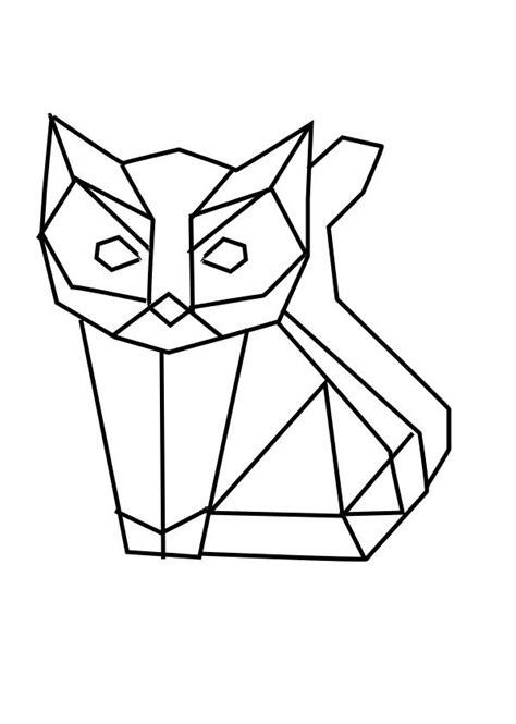 chat origami ideas  pinterest cat origami