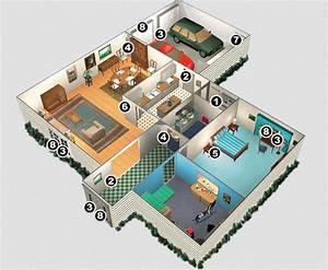 faire sa maison en 3d gratuit en ligne meilleures images With creer sa maison en 3d 5 plan maison moderne tahiti maisons clair logis