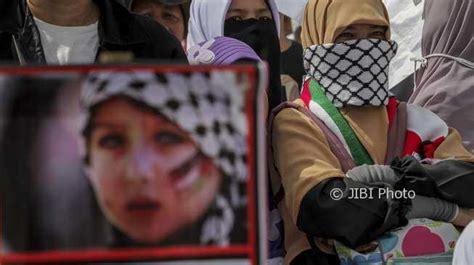 anies baswedan baca puisi  aksi bela palestina