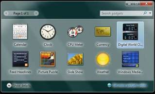 World Clock Desktop Gadget Windows 7