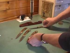 Comment Aiguiser Un Couteau : fabriquer un couteau youtube ~ Melissatoandfro.com Idées de Décoration