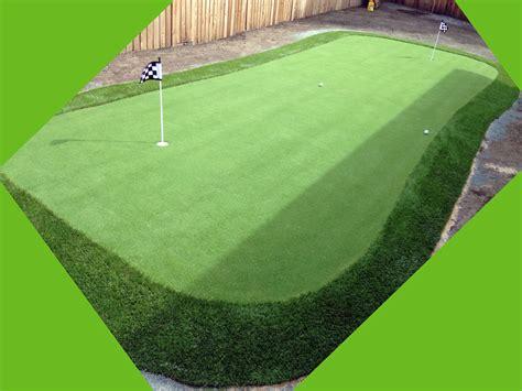 putting in a lawn putting greens golf putting greens texas grass