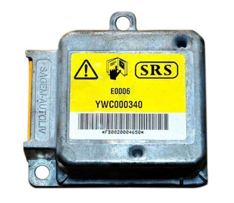 airbag deployment 2008 gmc sierra on board diagnostic how to repair srs module