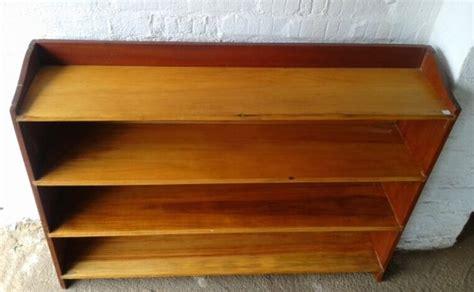 #northcliffantiques A Vintage Bookshelf Wood Shelves